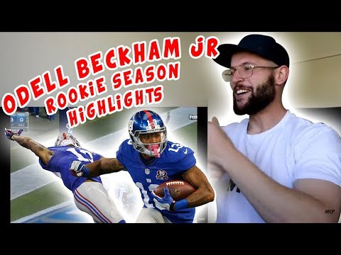 Rugby Player Reacts to ODELL BECKHAM JR NFL Rookie Season Highlights YouTube Video