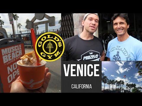 A DAY IN THE LIFE (Venice Beach) Allenamento alla Gold's Gym con Marco Zanetti e Mirtilli Love