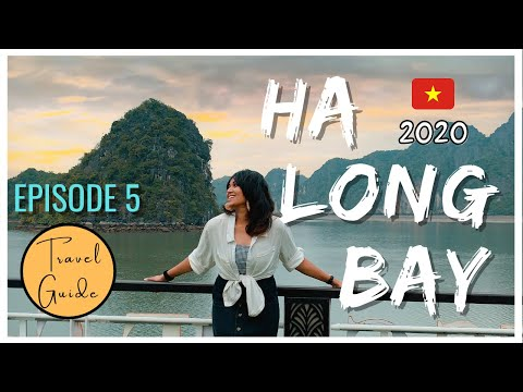 Ha Long Bay Vietnam In 2020 | 1 Day Cruise Travel Guide | Hanoi To #Halong Bay During COVID-19 #vlog