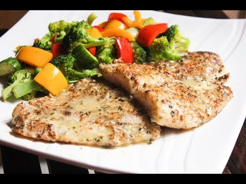 Pan Fried Fish With Lemon Butter Sauce II Easy Cooking II Healthy Cooking II My White Platter