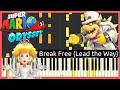 Super Mario Odyssey OST - Honeylune Ridge: Escape! // Piano