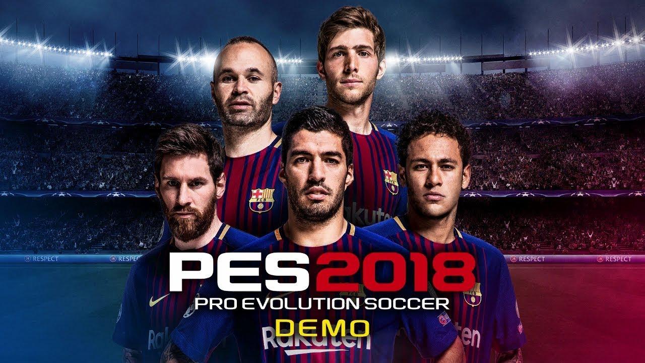04396f200 Pro Evolution Soccer 2018 Demo PS4 - Pierwsze wrażenia - YouTube