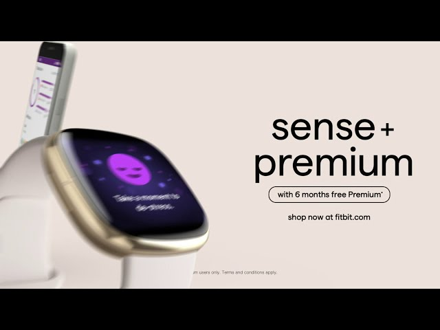 Stress Management with Fitbit Premium + Sense