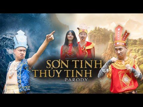 [Nhạc chế] SƠN TINH THỦY TINH TRAI NGOAN KỂ | Xuân Dích & Thế Một | Rap Việt Parody