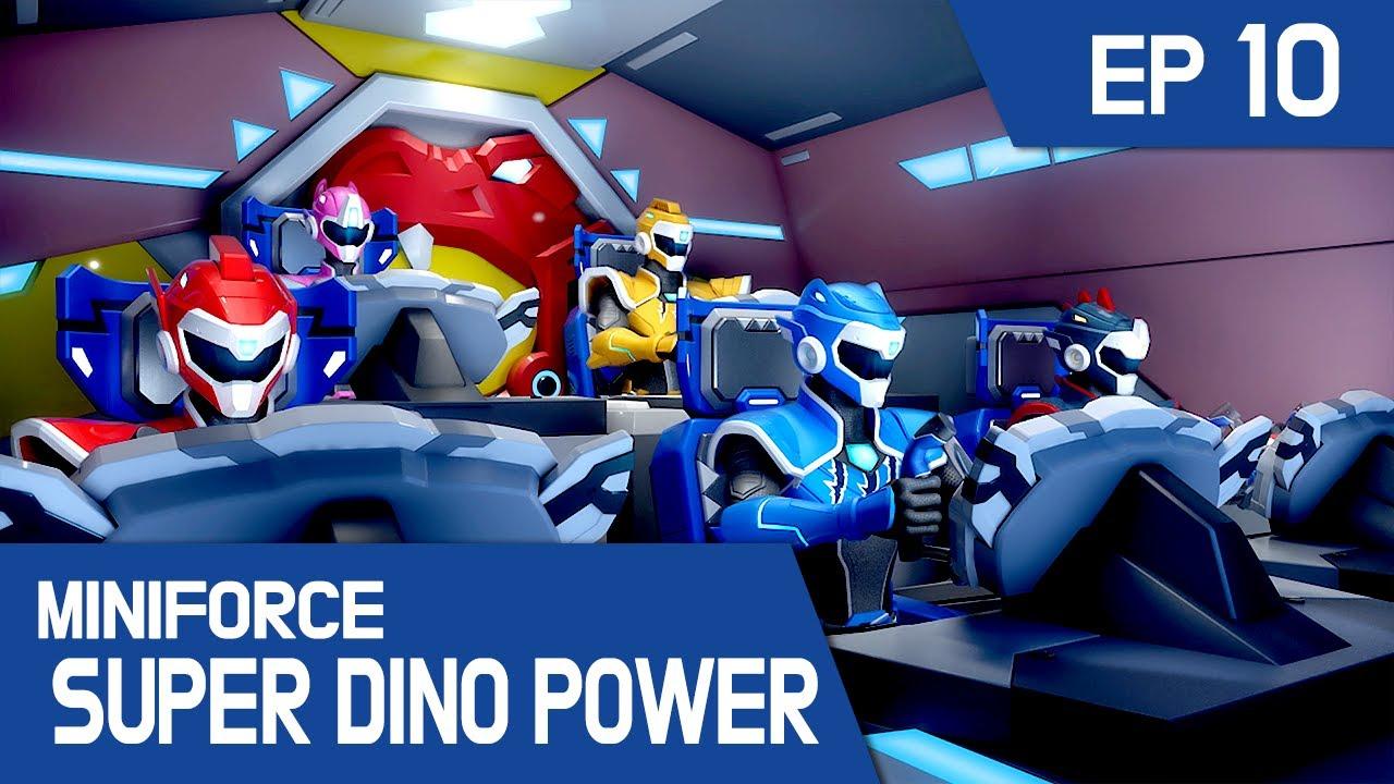 [MINIFORCE Super Dino Power] Ep.10: You Can Do it, Lui!