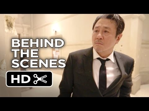 Lucy Behind the s  Shooting in the Sorbonne 2014  Choi Minsik, Scarlett Johansson Movie HD