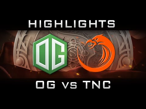 OG vs TNC The International 2016 TI6 Highlights Dota 2