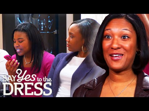 Bride Wants A Super Expensive Dress So Her Bridesmaids Decide To Help | Say Yes To The Dress Atlanta