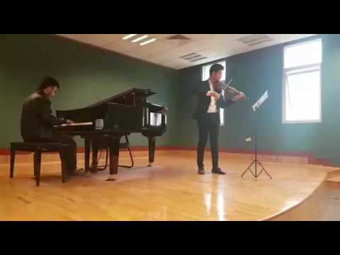 Canon in D piano improv and violin- Kuwait music Academy