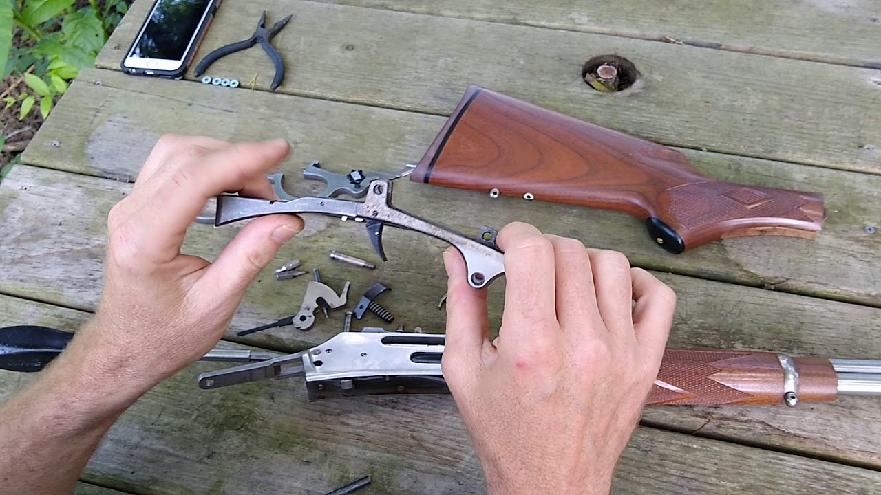 Marlin Trigger Kit Installation on Marlin 336 30-30 stainless steel (8  minutes)