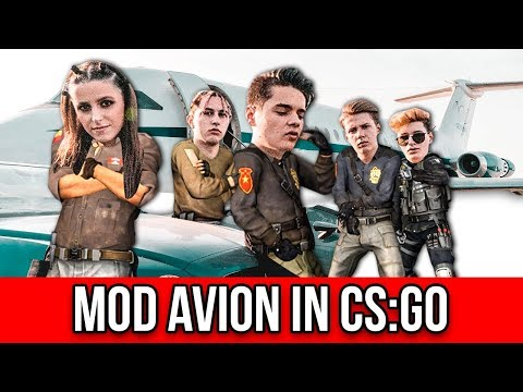 5GANG MOD AVION IN CS:GO !