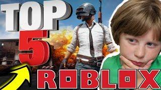 TOP 5 ROBLOX COPYCAT GAMES (2018)