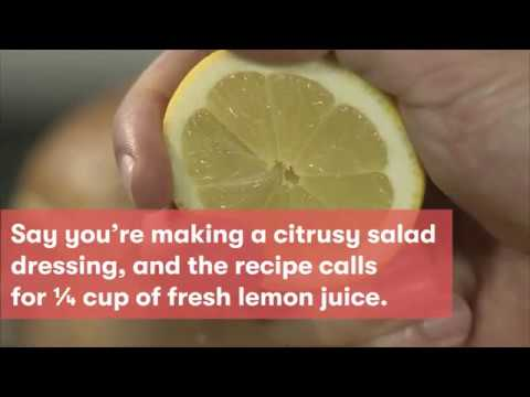 How Much Juice Can You Get From a Lemon? | Cooking Light