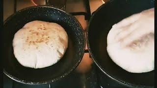 خبز المقلاة خفيف وهشيش حضريه لمائدة العيد😊😊كل عام وأنتم بخير😍😍