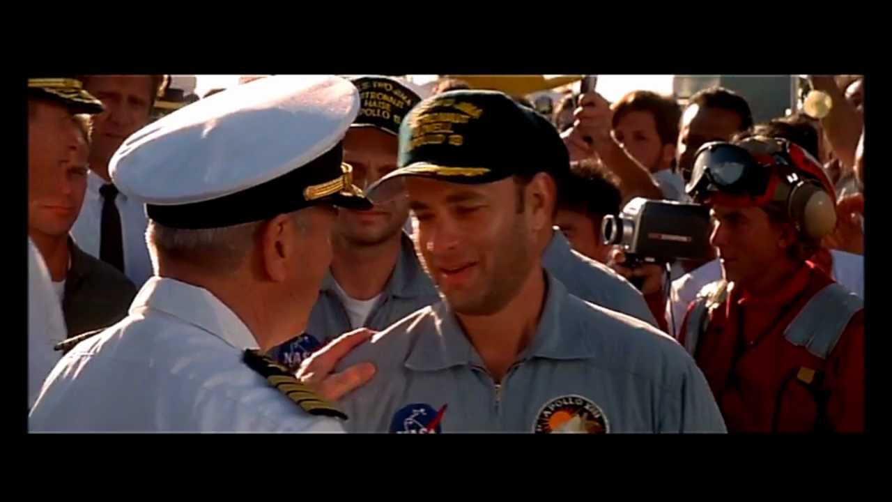 Jim Lovell's cameo appearance in Apollo 13 - YouTube