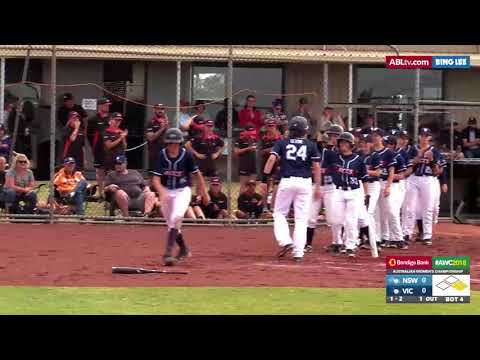 HIGHLIGHT: Emily Devine crushes two-run homer, #AWC2018 Youth Gold Medal Game
