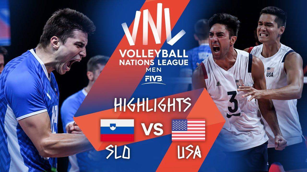 Download SLO vs. USA - Highlights Week 5 | Men's VNL 2021