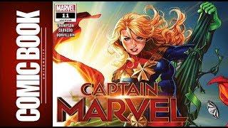 Captain Marvel #11 | COMIC BOOK UNIVERSITY