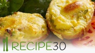 Twice Baked Potato Recipe With Crispy Bacon - Recipe30