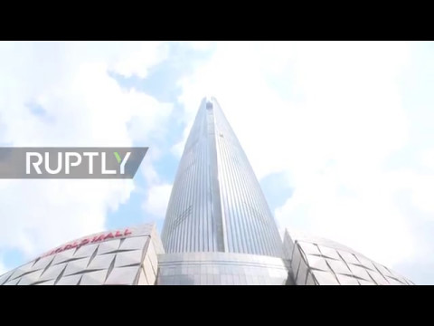 South Korea: World's fastest elevator takes you to the 121st floor in 1 minute