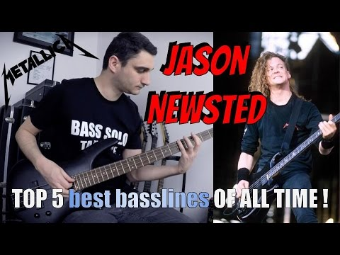Jason Newsted's TOP 5 - Best basslines OF ALL TIME!