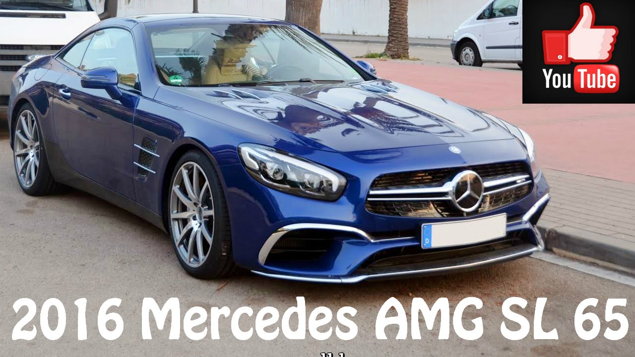 2016 mercedes amg sl65 youtube. Black Bedroom Furniture Sets. Home Design Ideas