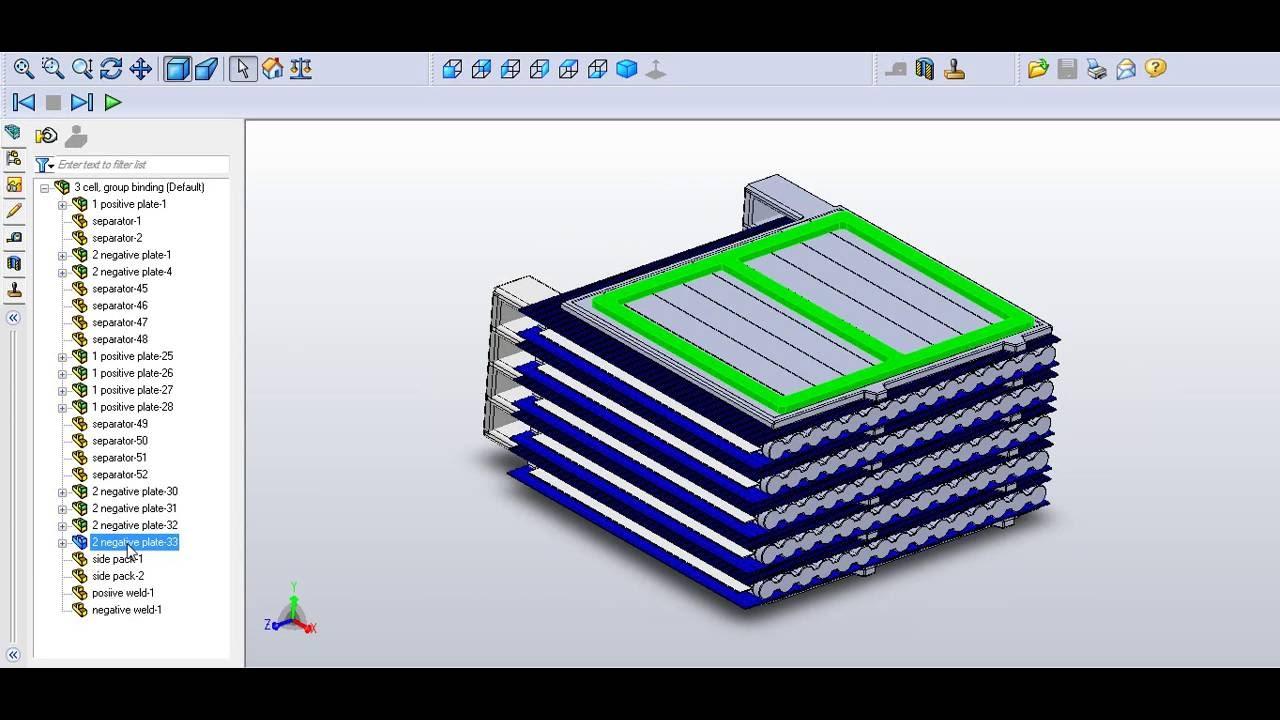 Lead Acid Battery Cell (2V 100AH) - YouTube