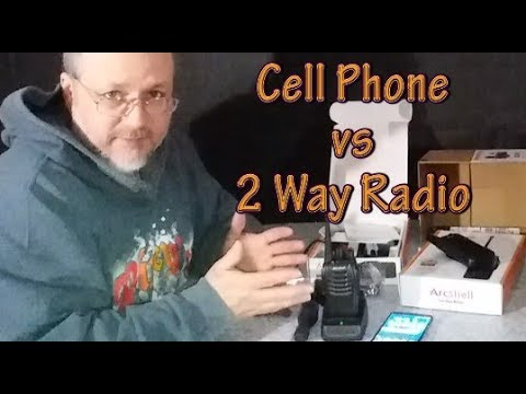 How Do I Communicate, Cell Phone Vs Two Way Radio.
