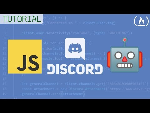 How To Build A Discord Bot - Full JavaScript Chatbot Tutorial
