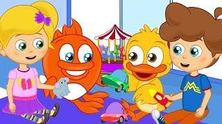 اغاني اطفال - رسوم متحركة -  تشارك مع الأصدقاء - الأطفال السعداء نغمات روضة الأطفال