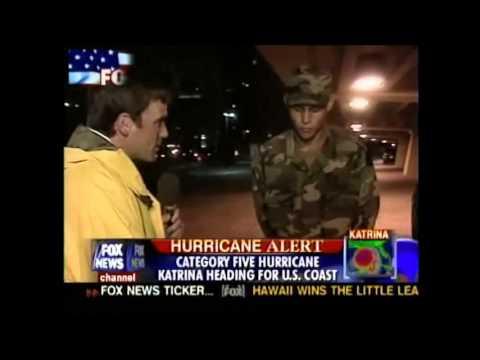 hurricane katrina news footage part 1