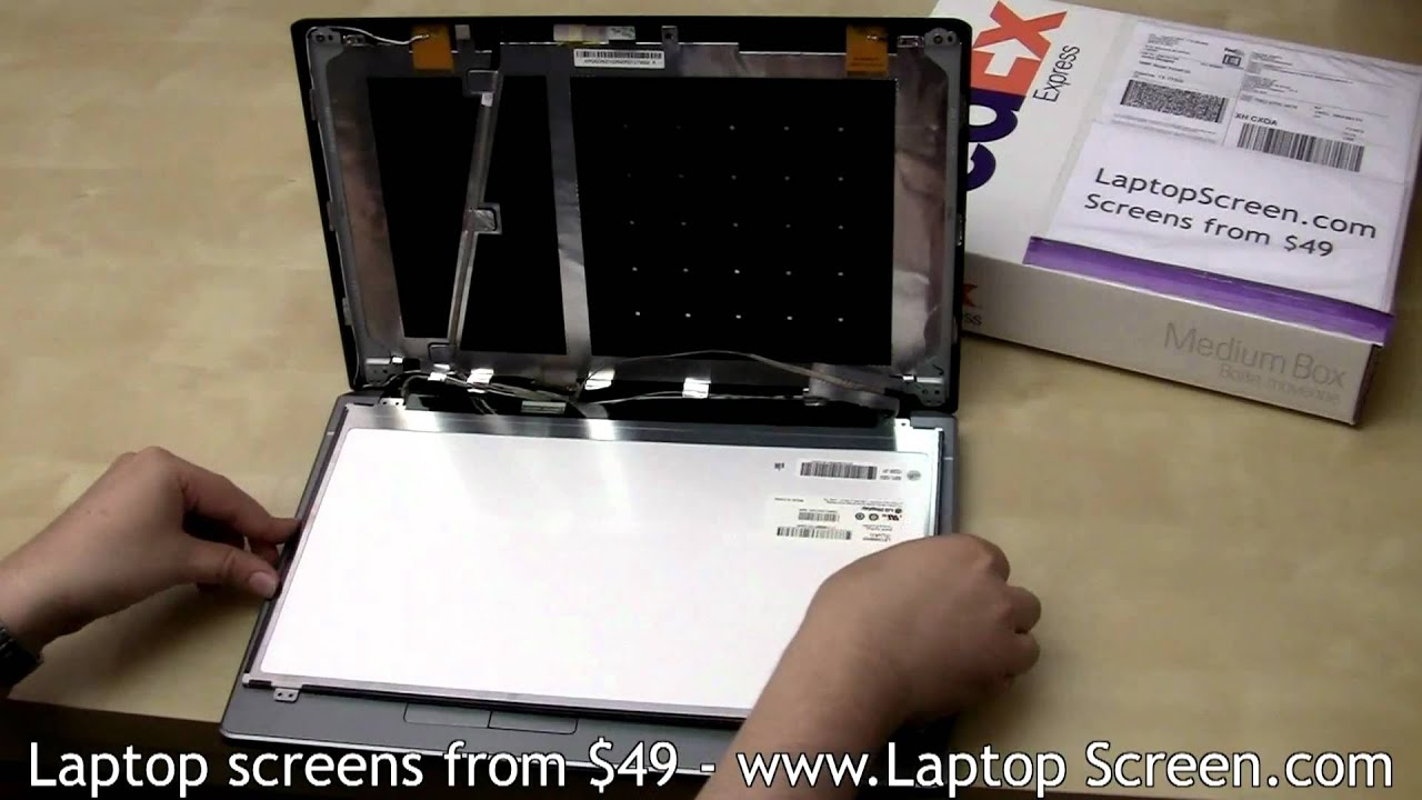 laptop screen replacement lcd screen replacement guide acer aspire rh youtube com Acer 5534 1121 Acer Aspire 5534 Recovery