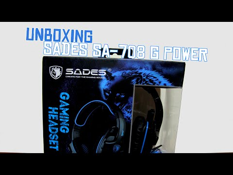 Unboxing Sades SA-708 G Power! (Indonesia)