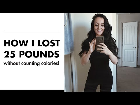 How I lost 25 pounds and kept it off without counting calories