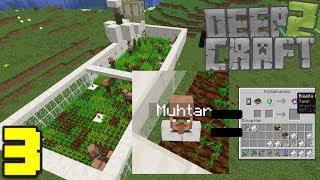 KÖYLÜ FARMI ve MUHTAR !! Deepcraft 2 - Bölüm 3