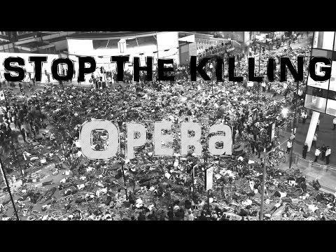 Stop the Killing - TfL Die In - Opera