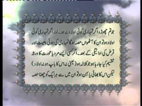 Surah Noor With Urdu Translation Pdf