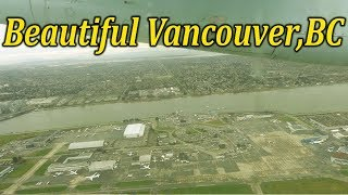 Plane journey from Vancouver to Vancouver Island | BRITISH COLUMBIA , CANADA - A TRAVEL TOUR - HD