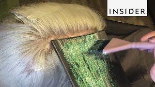 Glitterage is the Sparkliest New Hair Trend
