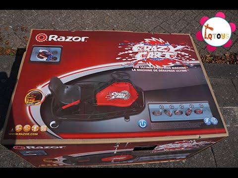 unboxing razor crazy cart 2014 youtube. Black Bedroom Furniture Sets. Home Design Ideas