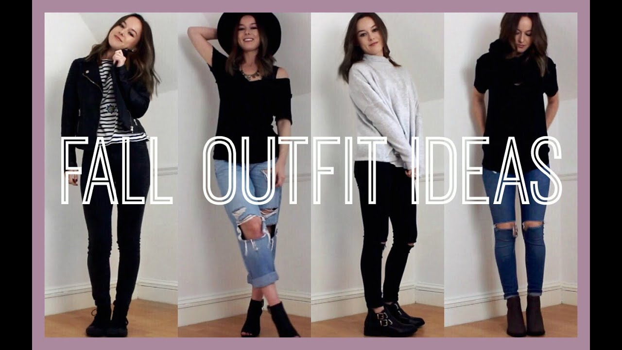 fall outfit ideas 2016 - youtube