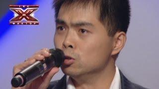 Чжан Юйфен Венджун - 你是我的眼 - Кастинг в Одессе - Х-Фактор 4 - 31.08.2013