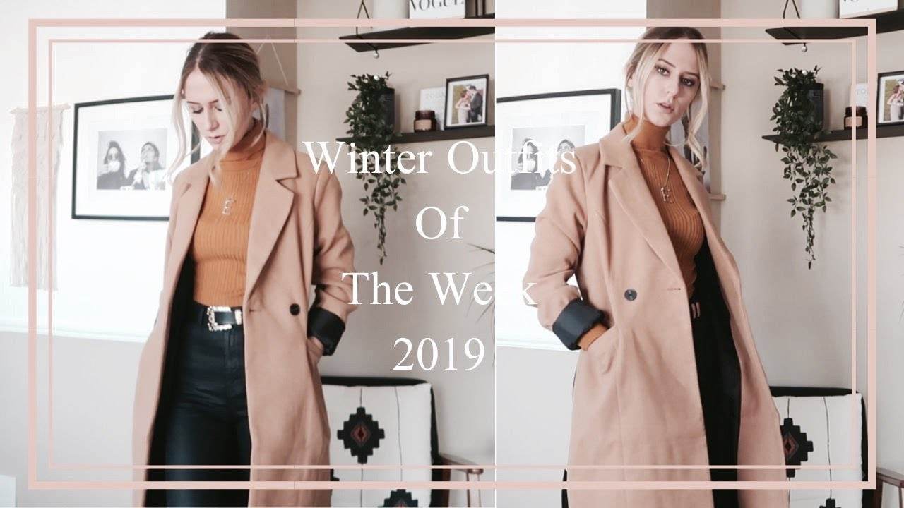 [VIDEO] - Winter Outfits Of The Week | 2019 4