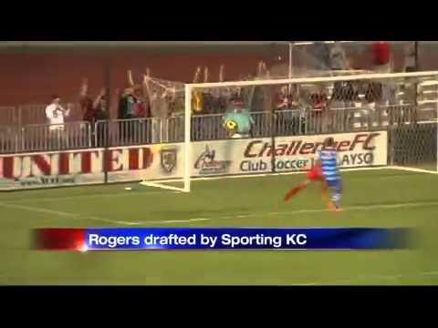 Former UNM Soccer Player Rogers Drafted By Sporting KC          KOB Albuquerque, NM          Jan. 2