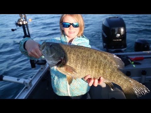 Amazing Fishing On Crystal Lake In Benzie County