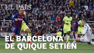 BARCELONA 2 - GETAFE 1: SETIÉN habla sobre el partido