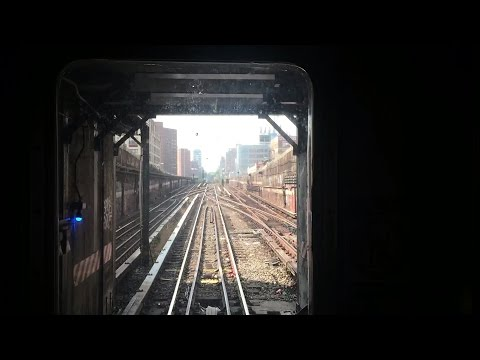 NYC Subway HD 60fps: Bombardier R62A 1 Train Railfan Cab Window (242nd St - 14th St) 9/10/16