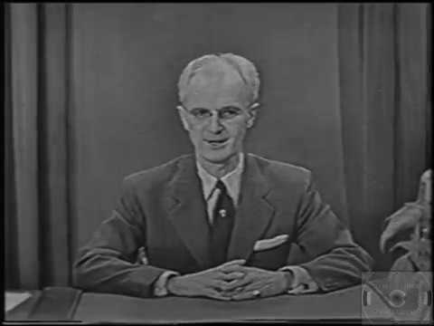 Johns Hopkins Science Review - DuMont Network - From Studio To Your Home (January 14, 1952)
