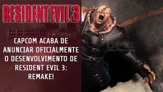 [Tio News #01] Resident Evil 3: Remake Confirmado! Veja o trailer e saiba mais detalhes