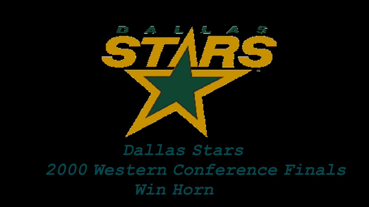 Dallas Stars 2000 Western Conference Finals Win Horn Youtube